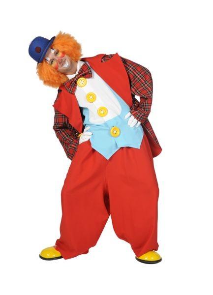 Clown Roland 4-delig VERHUUR