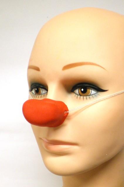 Clownsneus rubber rechthoek