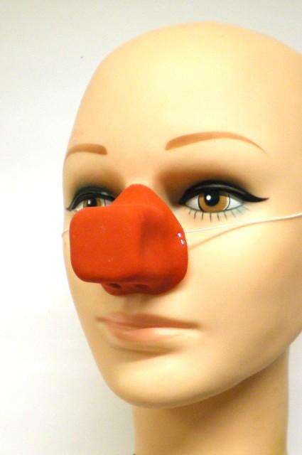 Clownsneus rubber vierk.