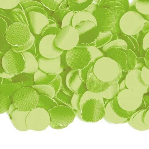 Confetti 100 gram licht groen