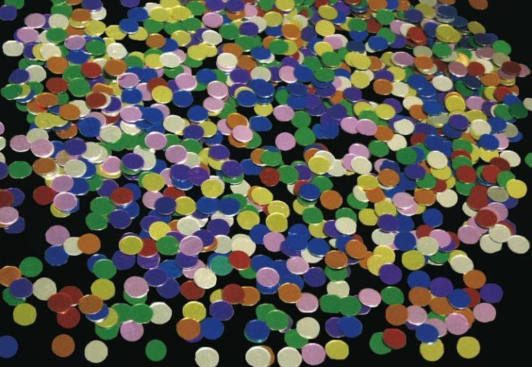 Confetti dots metallic