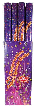 Confetti shooter groot 80 cm kleur