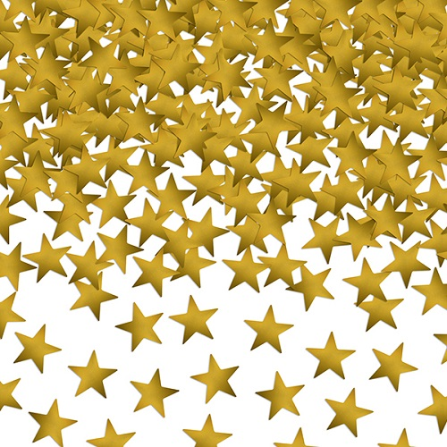 Confetti sterretjes goud 30gr