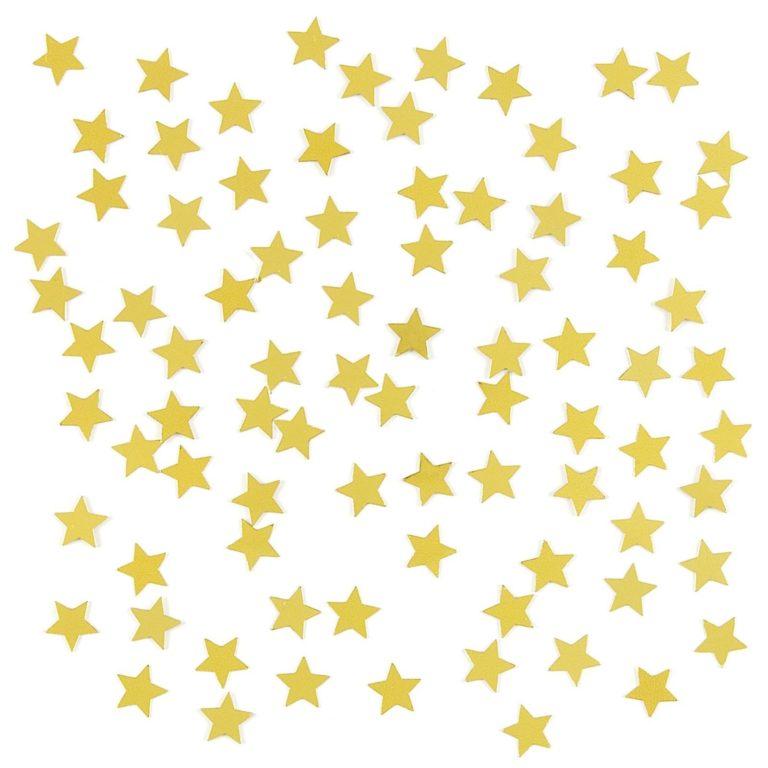 Confetti sterretjes goud