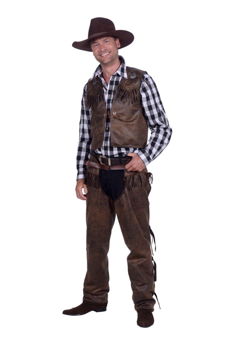 Cowboy jas en broek VERHUUR