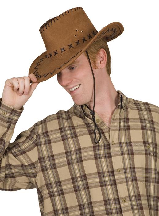 Cowboyhoed elroy bruin
