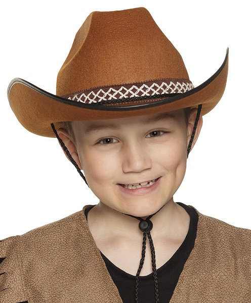 Cowboyhoed junior bruin
