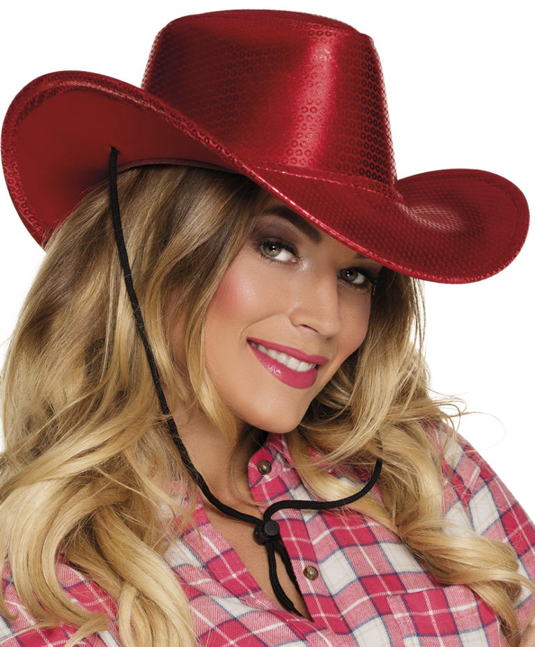 Cowboyhoed Rodeo Blaze rood