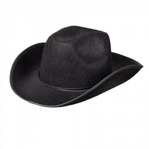 Cowboyhoed rodeo zwart