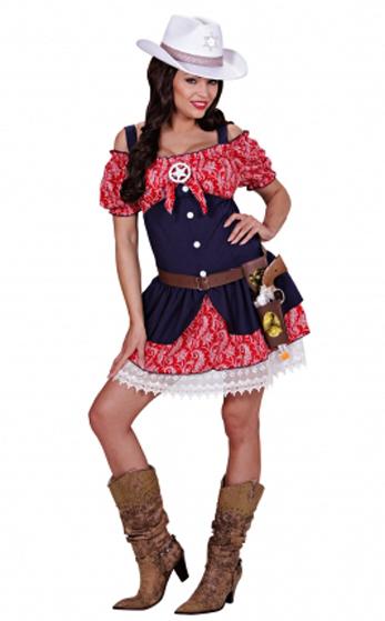 Cowgirl jurk Dakota - Extra large