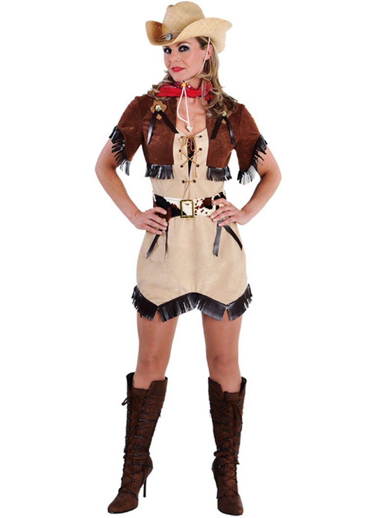 Cowgirl jurk Texas - Extra Large