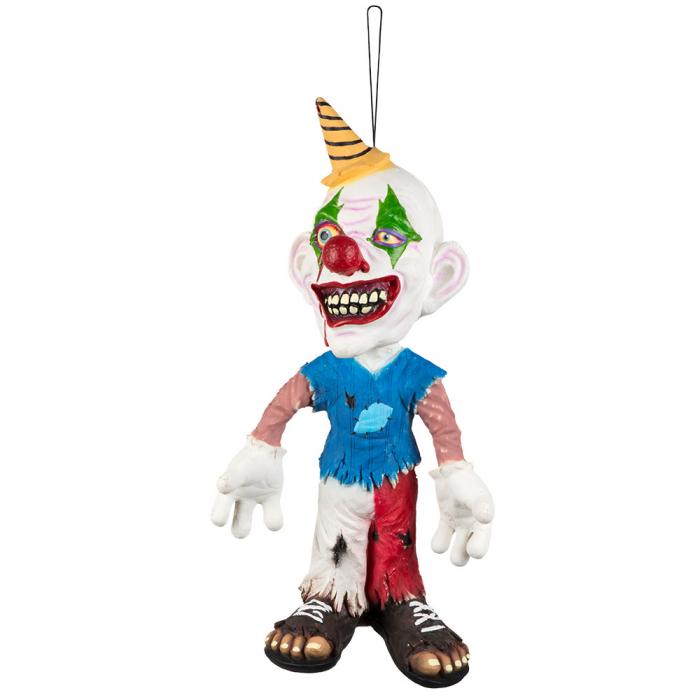 Creepy clown decoratie pop