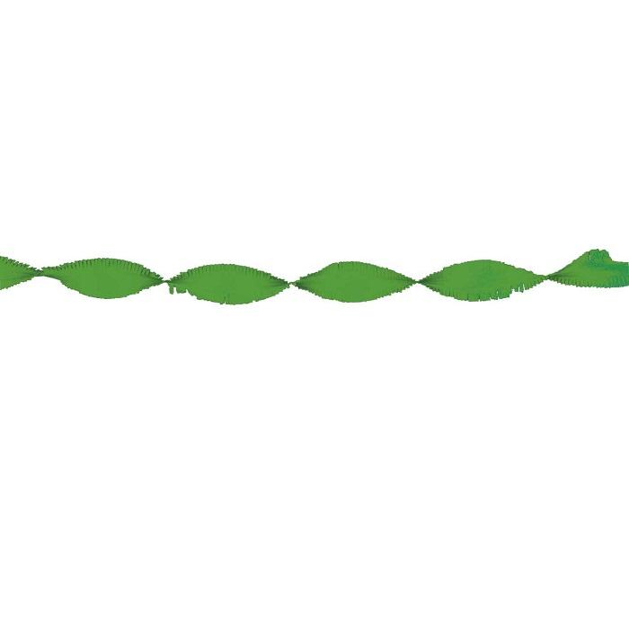 Crepe slinger groen 24 meter