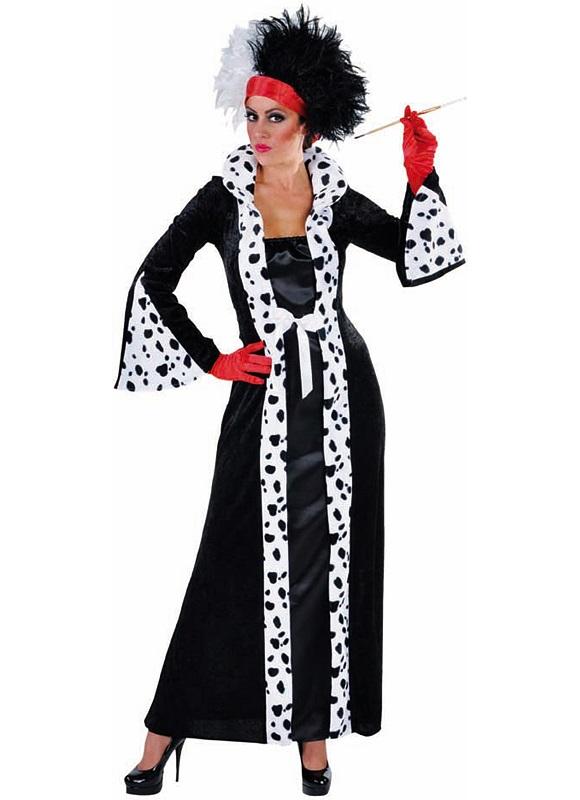 Cruella de Vil jurk - Extra Large