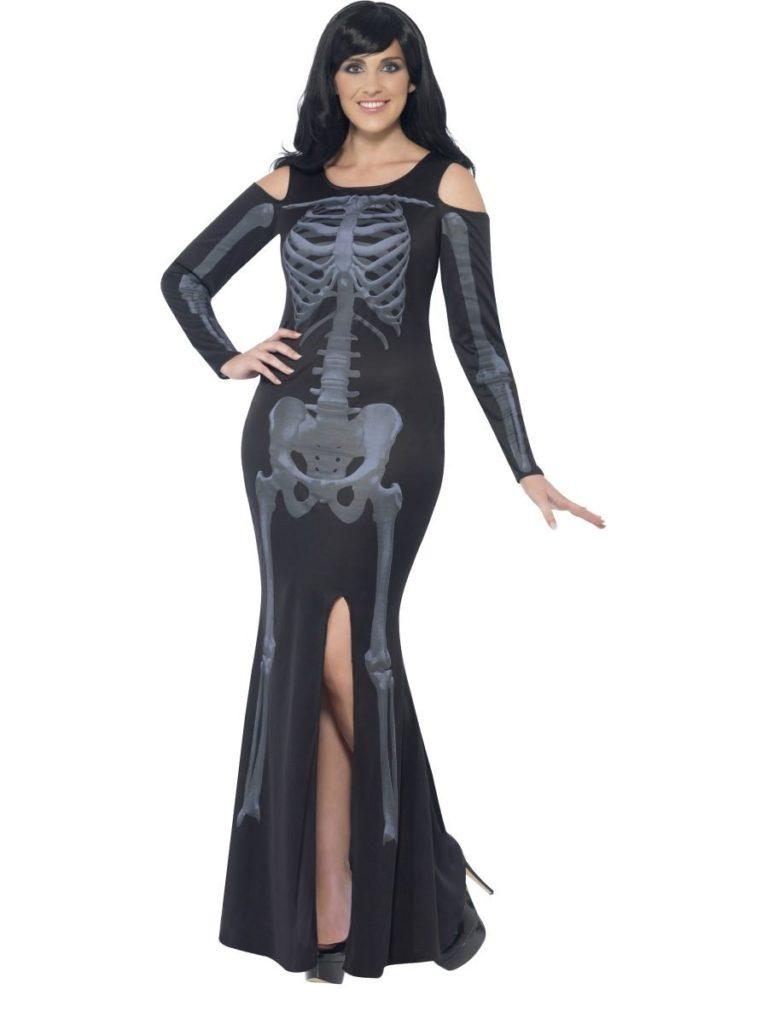 Curves skeleton jurk PLUS SIZES - Extra Extra Large