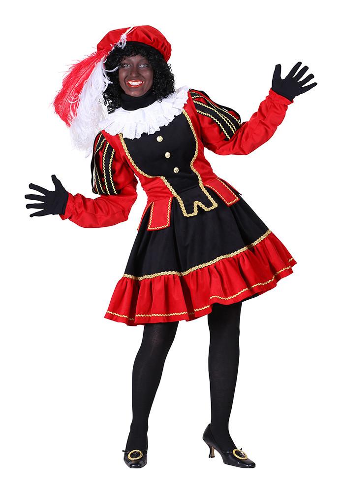 Dames Pietenpak Murcia zwart/rood - XL