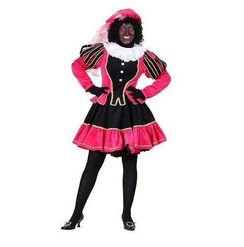 Dames Pietenpak Murcia Zwart/roze - XXL