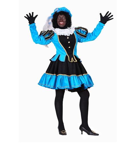 Dames Pietenpak Murcia Zwart/Turquoise - XXL
