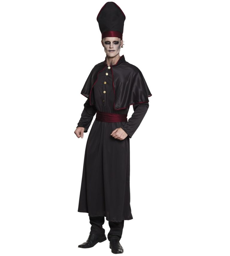 Dark priest kostuum volwassen - 58/60