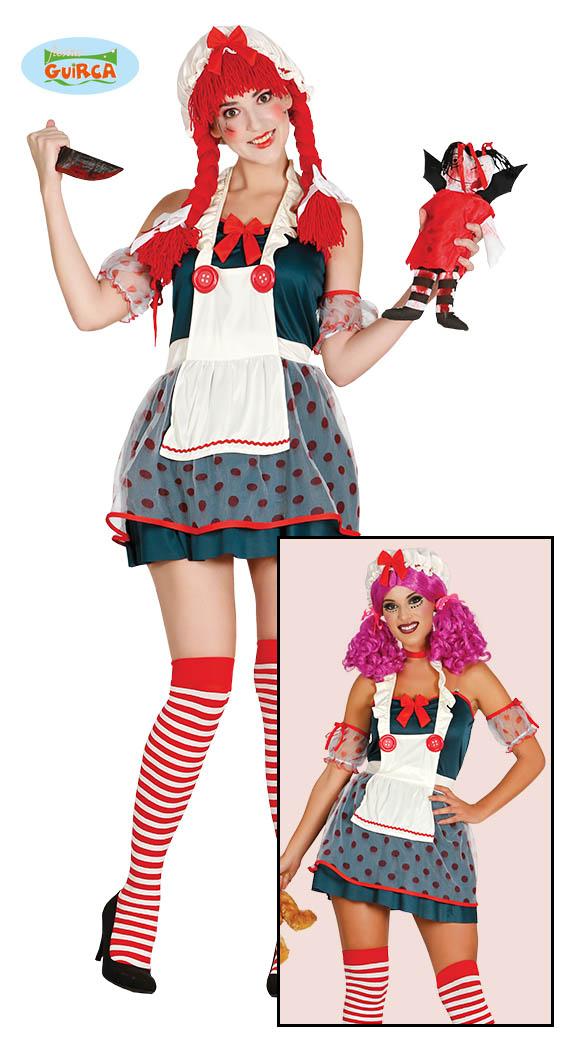 Dead doll kostuum - Large