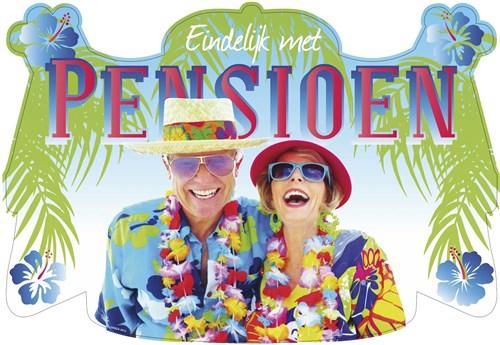 Deurbord huldeschild Pensioen