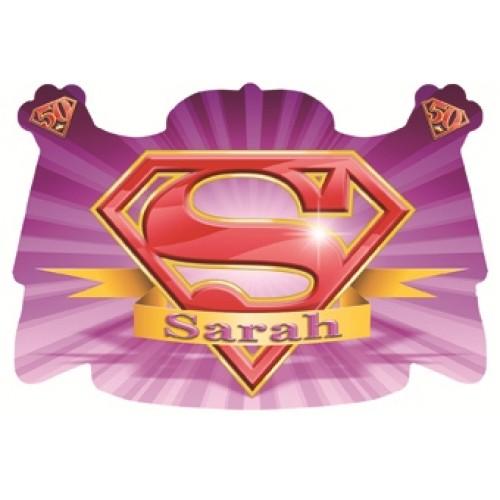 Deurbord super Sarah