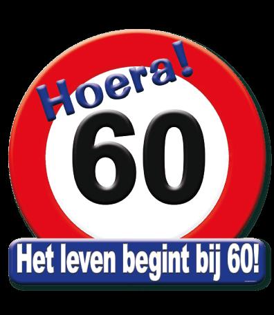 Deurbord verkeersbord 60