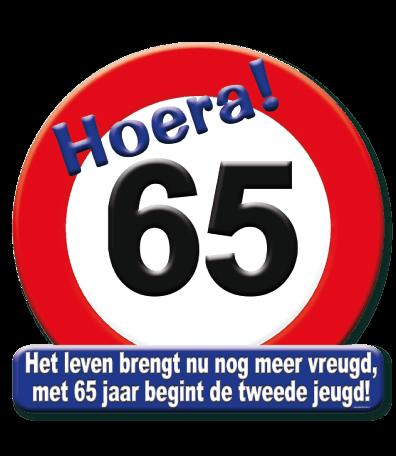 Deurbord verkeersbord 65