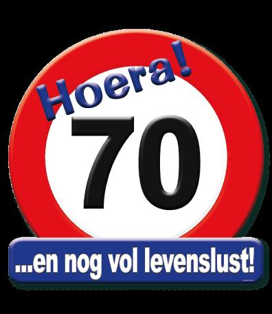 Deurbord verkeersbord 70
