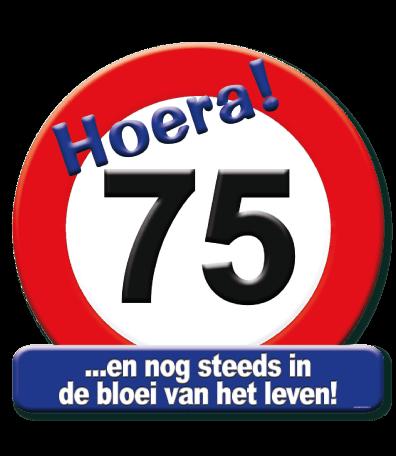 Deurbord verkeersbord 75