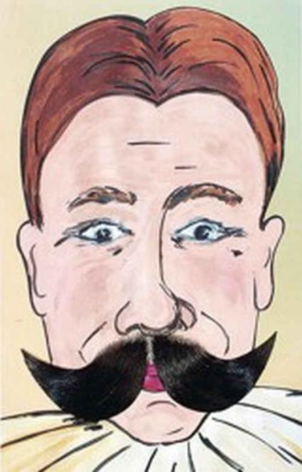 Deze zwarte plaksnor is gemaakt van echt haar en geknoopt op film tule. Deze nep snorren dienen geplakt te worden met mastiek. Uiteraard kunnen deze echt haar snorren veel vaker gebruikt worden. Deze snorren worden ook toneel snorren genoemd.  nep snor, nepsnor, zwarte nepsnor, plaksnorren, kunst snor, fake snor, namaak snor