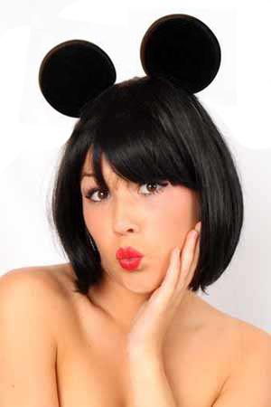 Diadeem oren Mickey Mouse