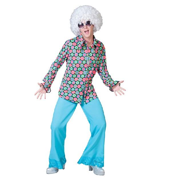 Disco blouse polkadot - 52/54