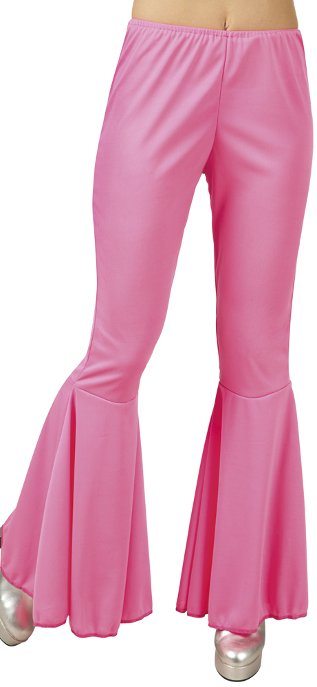 Disco broek dames roze