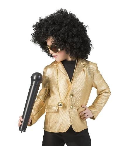 Disco jasje goud 140