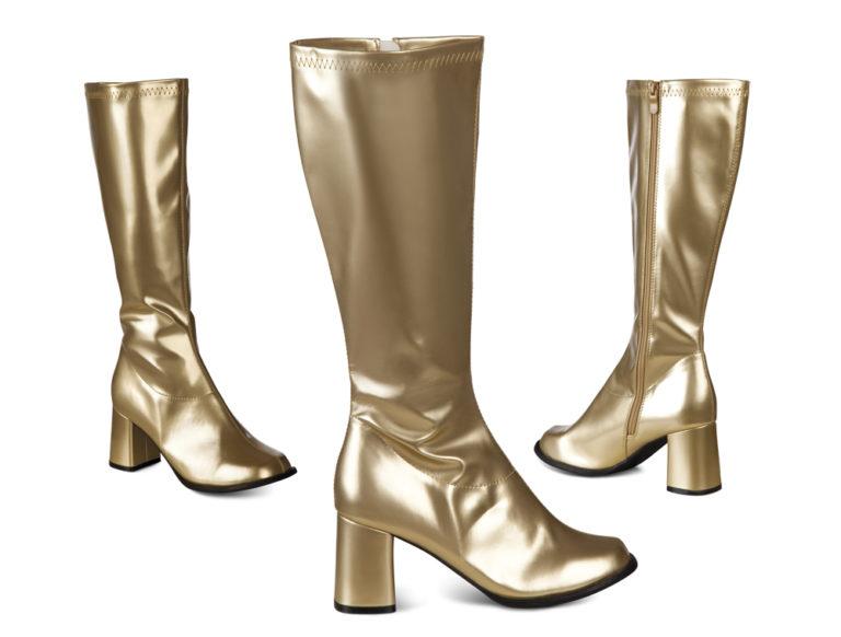 Disco laarzen retro goud - 41