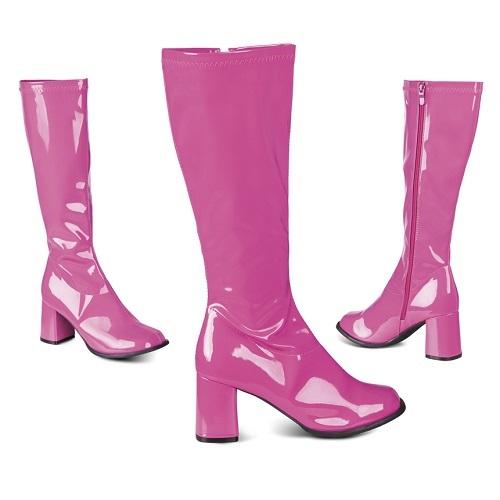 Disco laarzen retro roze - 41