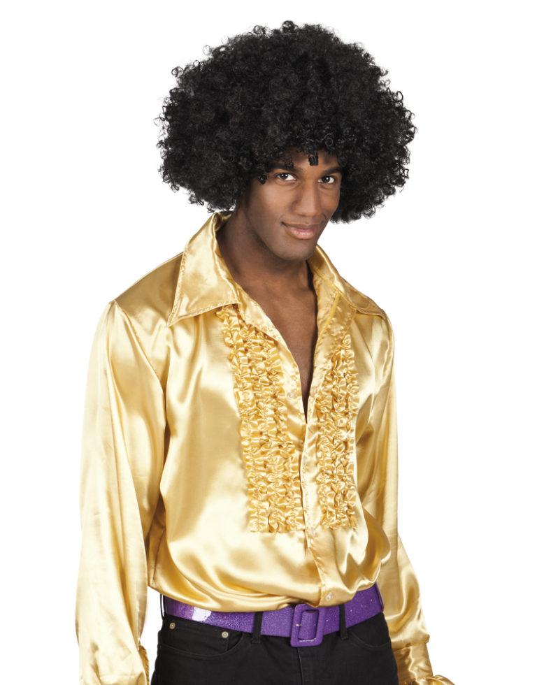 Disco ruche blouse goud-XXL