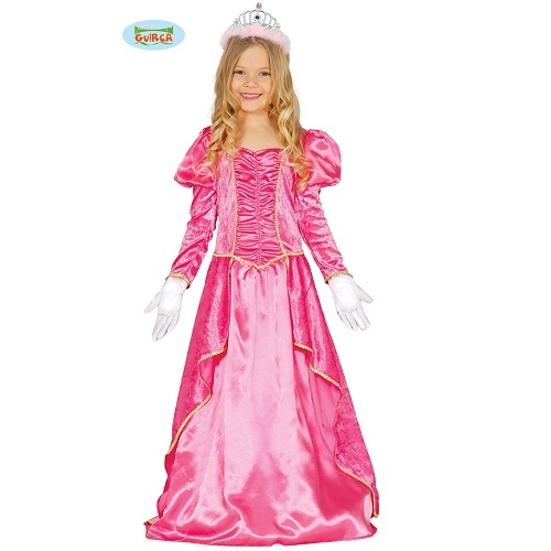 Doornroosje jurk 7-9 jaar