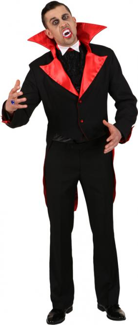 Dracula jas zwart met rood - 56