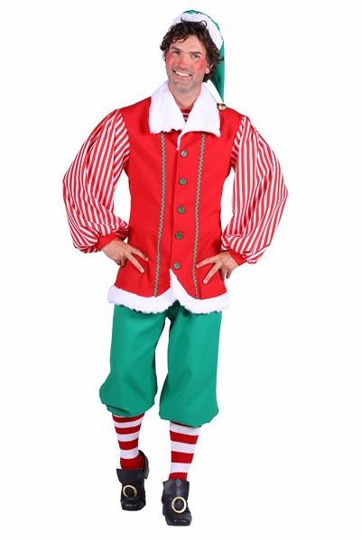 Elf kostuum Santa's helper - S