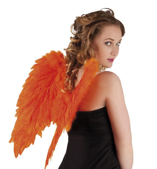 Engelenvleugels oranje 50x50