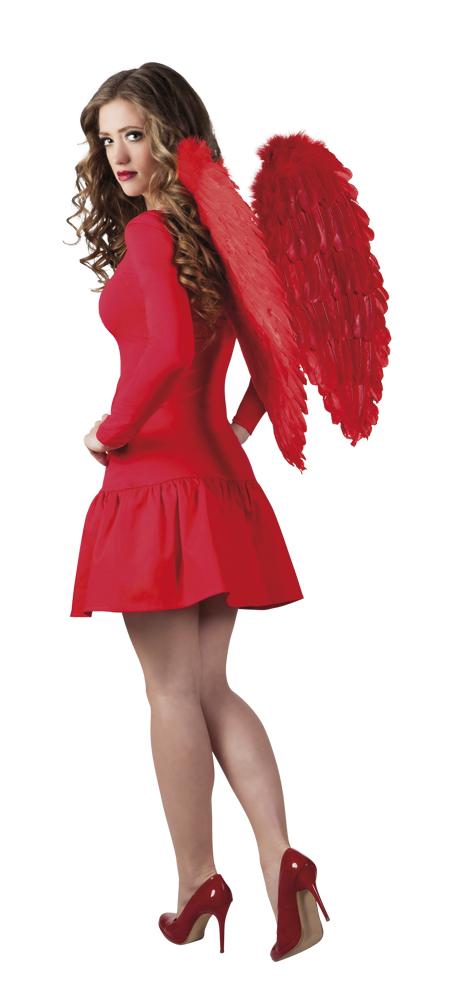 Engelenvleugels rood 65x65