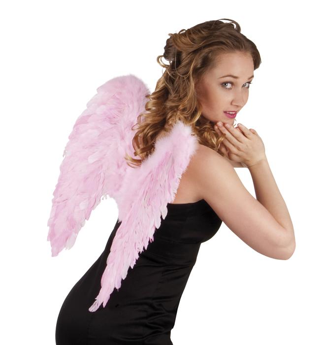 Engelenvleugels roze 50x50