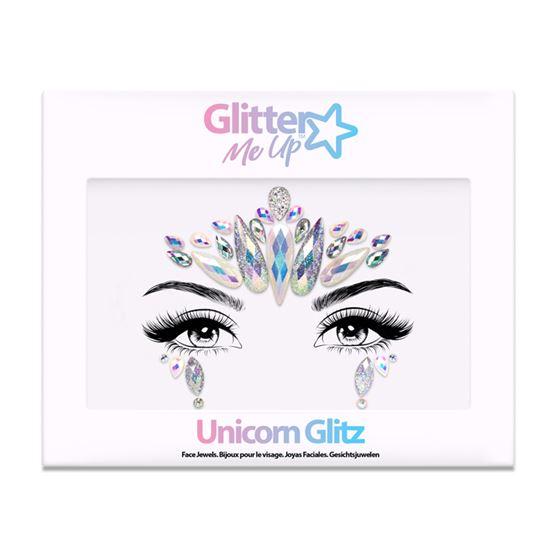 Face and body jewels Unicorn Glitz model 104