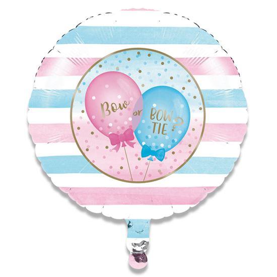 Folieballon gender reveal 46cm