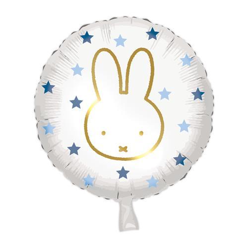 Folieballon Nijntje blauw 45cm