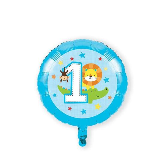 Folieballon one is fun boy 46cm