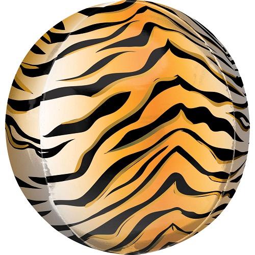 Folieballon orbz tijger print