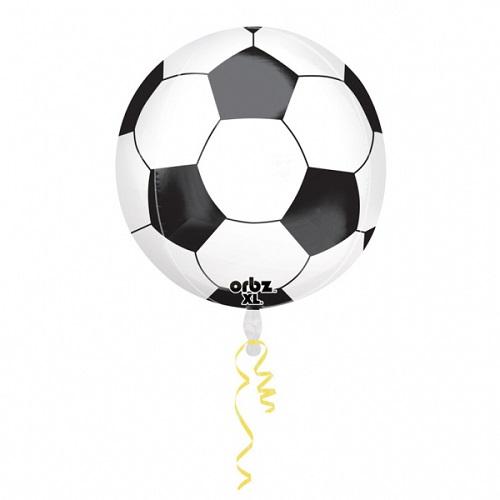 Folieballon Orbz voetbal 38cm